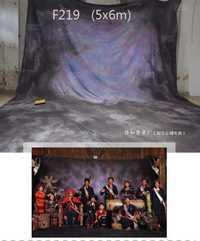 Alta calidad de la fábrica personalizada hecho a mano tye-die Muslin fotografía estudio Fondos, gran fondo para reunión familiar f219