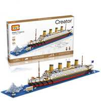 Loz diamante Blocs TECHNIC ladrillos Blocs juguete RMS Titanic nave modelo de barco de vapor Juguetes para niños micro Creator 9389