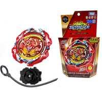 Beyblade Takara Tomy Original rafale Fusion GT Gyro jouets attaque toupies Pack avec lanceur B-117 Bey lame enfants cadeaux