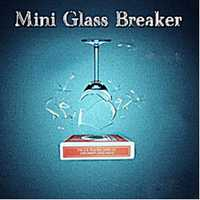 Mini Glass interruptor Trucos de magia mago breaking Glass magia dispositivo etapa ilusiones Accesorios gimmick props