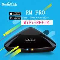 Controlador Broadlink RM2 RM PRO hogar inteligente de la automatización inalámbrica WiFi IR RF control remoto Universal controlador cambiar de trabajo con Alexa de Google