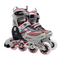 Unisex niños profesional zapatos de patinaje de una sola fila de patines zapatos Universal ajustable en línea zapatos de Patinaje