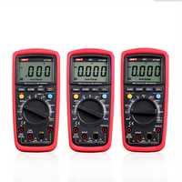Eléctrico multímetro UNI-T UT139A UT139B UT139C multímetro Digital Auto de la gama AC DC Volt Amp medidor verdadero RMS multímetro portátil