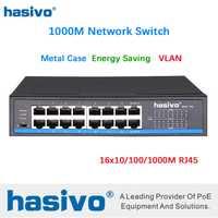 16 ports RJ45 tous les commutateurs réseau Gigabit commutateur lan commutateur ethernet
