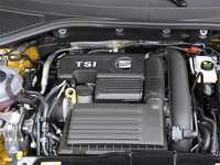 Para asiento FR Leon Toledo Ateca 1,4 T EA211 cubierta del motor sombrero tapa 04E103925H 04E103932D coche-estilo