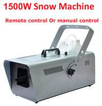 Máquina de nieve DHL/UPS 1500 W equipo de efectos especiales de escenario máquina de efecto de nieve espray jabón de espuma DJ KTV boda Bar fiesta