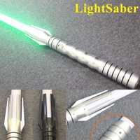 Nouveau 8 Types 1 pcs LED Sabre Laser Avec Son Brillant Lumière Luc Noir Série Skywalker Sabre Laser Bleu Vader Épée Cosplay jouet