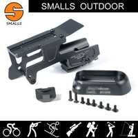 Accesorios tácticos de caza ALG soporte de 6 segundos para Glock 17 y 18C pistolas con magwell acampanado para carril picatinny de 20mm