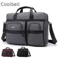 2019 nouveau sac de Messenger de marque Coolbell pour ordinateur portable 15