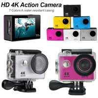 Alta calidad H9R Ultra HD 4K Cámara de Acción 30m impermeable 2,0 'pantalla 1080p Cámara deportiva ir extreme pro cam