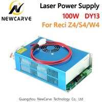 CO2 láser DY13 fuente de alimentación 100 W para W4/Z4/S4 Reci CO2 láser conductor de tubo de corte de grabado máquina de NEWCARVE