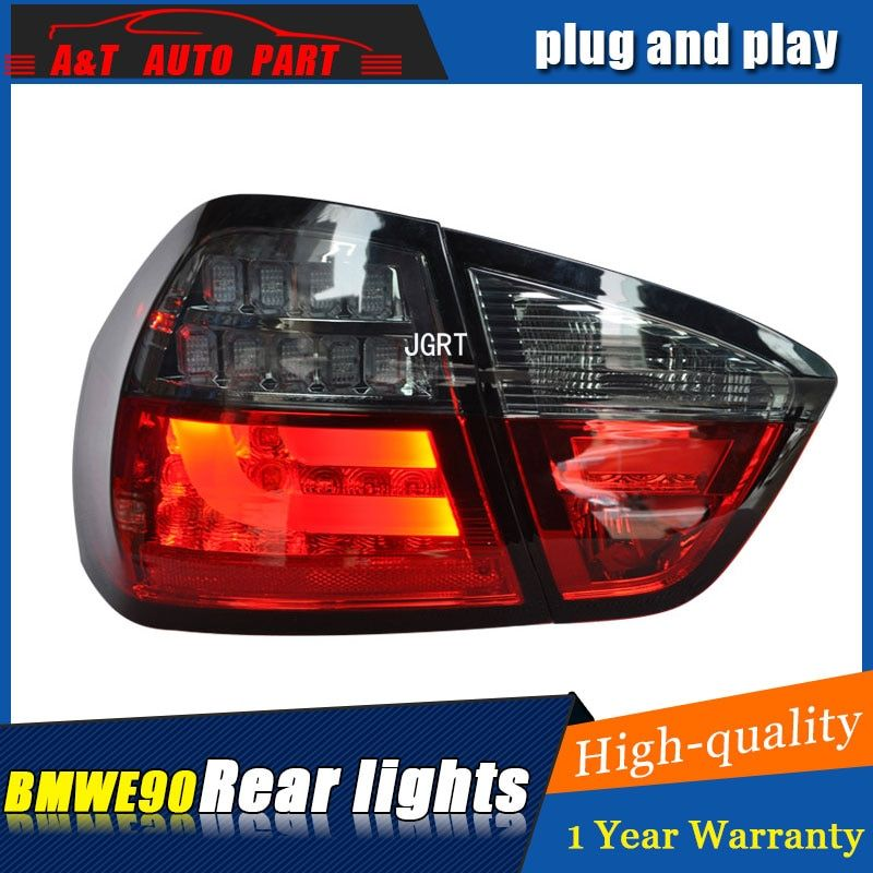 HUD US $520.00 Car styling Accessories for BMW E90 rear Lights 2005-2008 led TailLight for E90 Rear Lamp DRL+Brake+Park+Signal lights led lamp