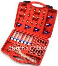 Coche flujo del inyector Diesel diagnóstico herramienta Detector Auto cilindro inyector Common Rail Tester Set ST0003