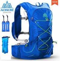 AONIJIE ligero corriendo bolsas mochila deportes al aire libre Racing Marathon senderismo hidratación Pack 3L bolsa de agua