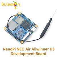 NanoPi NEO aire Allwinner H3 Placa de desarrollo IoT Quad-core Cortex-A7 a bordo Bluetooth Wifi Super Raspberry Pi