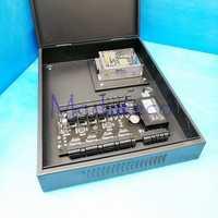 TCP/IP 4 puertas de panel de control de acceso de C3-400 sistema de control de acceso de la puerta + PSM030B Unidad de fuente de poder y caja