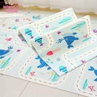 Tapis de jeu brillant pour bébé tapis pour bébé tapis souple pour enfants tapis de jeu Puzzle tapis en mousse 180*200 cm tapis anti-dérapant tapis bébé