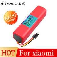 PALO de alta calidad 5600 mAh batería recargable 14,4 V aspiradora robot accesorios para xiaomi robot roborock S50 S51