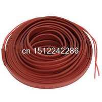 Cable de calefacción de ladrillo rojo resistente al agua 220 V 10 M x 15mm