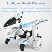 Control remoto mecánico Balance Dinosours 28308 detección interactiva baile RC Animal Robot inteligente dinosaurio interactivo