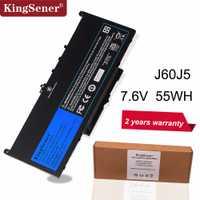 KingSener Nouveau J60J5 batterie de remplacement pour ordinateur portable Pour Dell Latitude E7270 E7470 J60J5 R1V85 MC34Y 242WD 7.6 V 55Wh