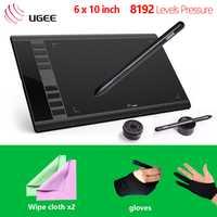 Ugee nuevo M708 gráficos digitales Tablet