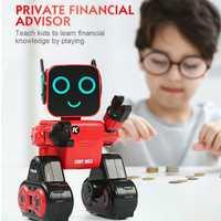 R4 RC Robots multifuncional activado por voz juguete inteligente gesto Robot juguetes dinero moneda de ahorro Banco regalos de los niños