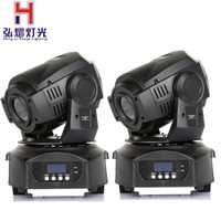 (2 unids/lote) cabezal móvil led spot 90 W LED Luz de cabeza móvil profesional DJ etapa fiesta discoteca luces