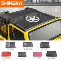 SHINEKA bâches de voiture pour Jeep wrangler tj 1997-2006 Top parasol maille bâche de voiture toit coffre résistant aux UV filet de Protection pour wrangler TJ
