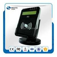 13.56 MHz USB LCD pc-linked NFC sin contacto lector de apoyo a ISO14443 una Tarjeta B con SDK libre Kit para banco de remuneración ACR1222L