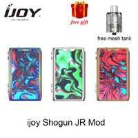 Regalo gratis Ijoy SHOGUN JR 126 W Vape TC Mod apto para SUBOHM tanque vaporizador E-cigarrillo mod con UNIV chip-en el conjunto del Shogun UNIV Mod