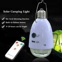 Iluminación solar dividida bombilla de Iluminación LED interior lámpara colgante de camping Solar lámpara de mercado nocturno