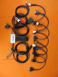 Scanner de moto de moto 7000tw pour suzuki pour YAMAHA, SYM, KYMCO,, HTF, PGO pour le plein câble d'outil de balayage diagnostique de honda 7in1