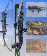 Arcos y flechas rectos al aire libre, arco y flecha de caza, arco especial de caza