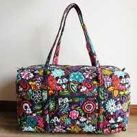 M gran bolsa de lona bolsas de viaje