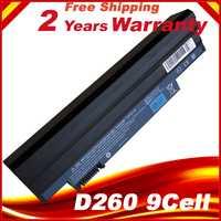 Batería del ordenador portátil AL10B31 AL10G31 para Acer Aspire One AOD255E AOD260 AO522 AOE100 D257 AOD270 D260 E100 522 722 D260 D270 d255 9cel