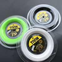 1 carrete TAAN T9 de polietileno suave giro directo cadena 1,15mm 200 M raquetas de tenis de cómodo cuerdas de tenis