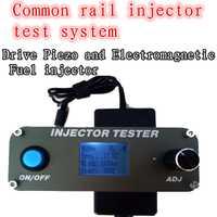 Probador de inyector de carril común diésel multifunción para herramientas de prueba de inyector electromagnético y piezoinyector