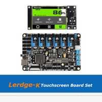 3D impresora de placa base Lerdge K pantalla táctil de 3,5 pulgadas en el brazo de 32-bit Placa de controlador con A4988/Drv8825/TMC2208/LV8729 conductor