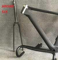 2019 Aero de carbono bicicleta carretera marco tenedor auriculares abrazadera tija de sillín T800 Ud armadura del disco y seis equipo bicicleta muchos colores 15 5 color tamaño