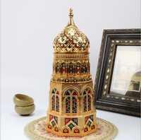 Iglesia europea en forma de té puede caja de almacenamiento sellado café en polvo latas de hojas de té contenedor de caja de lata de té Caddy Organiz CYG07