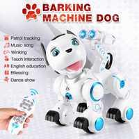 2,4g Control remoto inalámbrico inteligente perro mascota electrónica juguetes de los niños educativos Dancing Robot perro sin regalo de cumpleaños k10