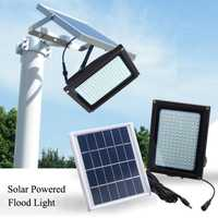 Venta caliente lámparas solares impermeables 150 LED Sensor de movimiento Luz de jardín reflector de luz Solar al aire libre