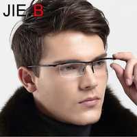 Montura de gafas de aleación de titanio TR90 para hombre