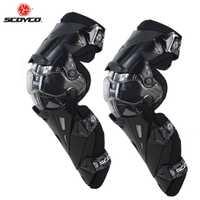 SCOYCO motocicleta Motocross Protector de la rodilla almohadillas guardias Motosiklet Dizlik Genouillere K1216 Moto Joelheira de protección rodilleras