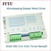 Nema23 controlador de motor paso a paso para FLS40 FUYU guía de movimiento lineal