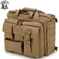 Hombres bolsas de viaje bolsos de bandolera deporte al aire libre bolsas Molle Mochila ordenador portátil Cámara Mochila bolsa táctica militar mensajero de los hombres