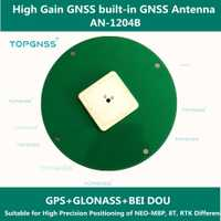 Antena GPS de alta precisión para LEA-8T/NEO-M8T/8U/8L NEO-M8P/6 t módulo GNSS de alta precisión RTK antena GNSS de alta ganancia.