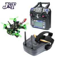 JMT Mantis85 85mm 6CH 2,4g RC Micro FPV carreras de Drone Quadcopter RTF 600TVL Cámara VTX y antena Doble 5,8g 40ch gafas de vídeo