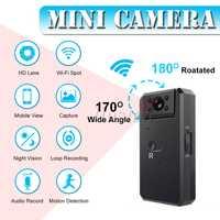 MD90 WiFi 4 K Mini cámara del deporte Cámara Full HD 1080 P Micro-Cámara de la visión nocturna infrarroja DV Video Digital DVR videocámara de acción para bicicleta al aire libre